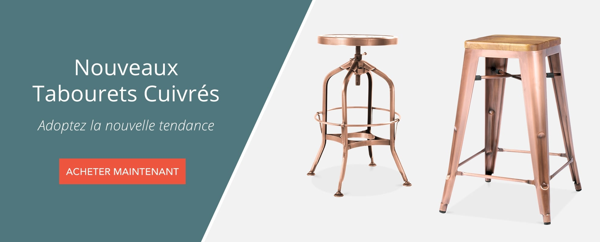 Copper Stools