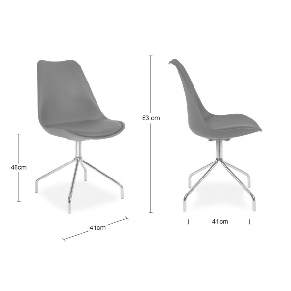 chaise eames inspired blanche avec pieds en croix m talliques cult uk. Black Bedroom Furniture Sets. Home Design Ideas