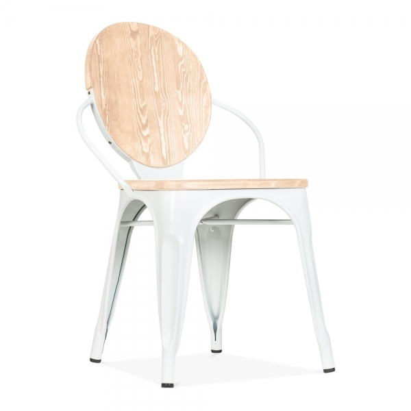 Louis Dining Chair With Option Wood Seat