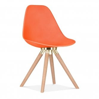 Chaise de salle à manger Moda CD2 - Orange