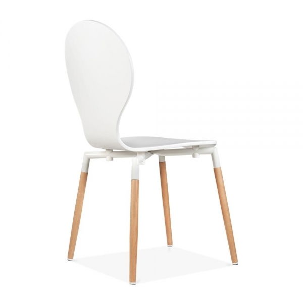 cult living novel dining chair in white cult uk. Black Bedroom Furniture Sets. Home Design Ideas
