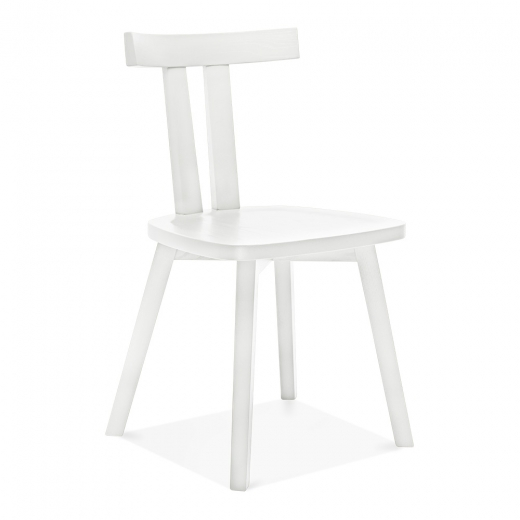 Chaise de salle manger rua blanc of cult furniture fr - Chaise salle a manger blanc ...