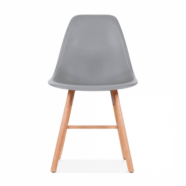 chaise eames inspired dsw gris froid avec pied style windsor cult uk. Black Bedroom Furniture Sets. Home Design Ideas