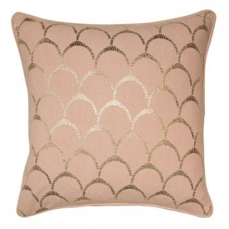 Coussin Coquille, Rose