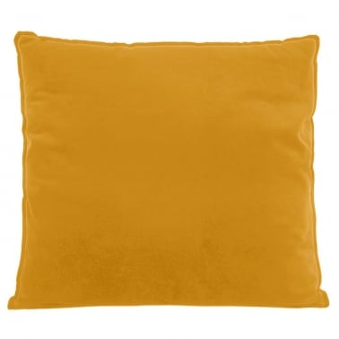 Coussin de Sol Extra Large, Tissu Velours, Moutarde