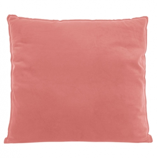 Present Time Coussin de Sol Extra Large, Tissu Velours, Rose
