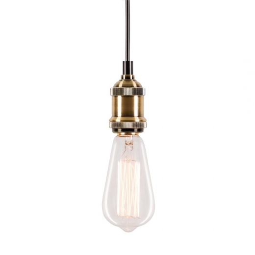 Cult Living Douille Antique avec Plafonnier - Bronze