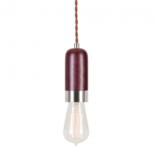 Cult Living Farrow Luminaire en Bois - Brun / Chrome 13cm