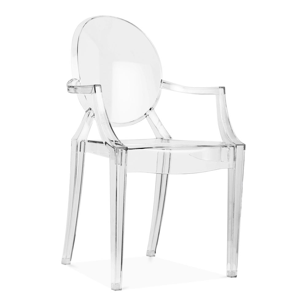 Clair de style louis ghost en plastique transparent cult uk - Fauteuil louis ghost pas cher ...