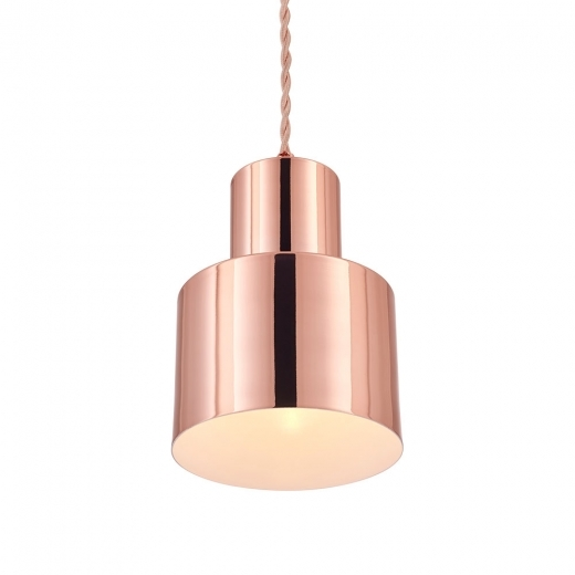 Cult Living Lampe à Suspension en Métal Midas, Cuivre