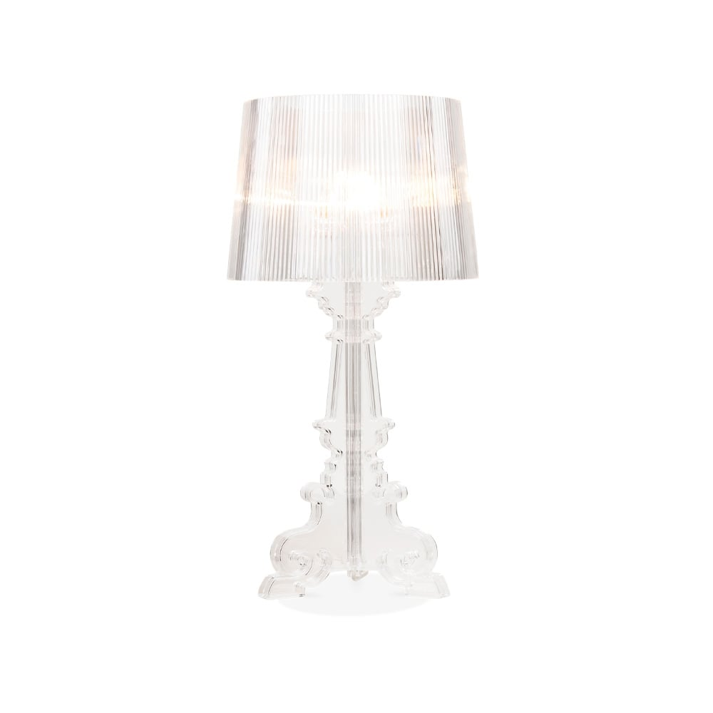 Lampe de style bourgie transparente luminaires design - Table de chevet kartell ...