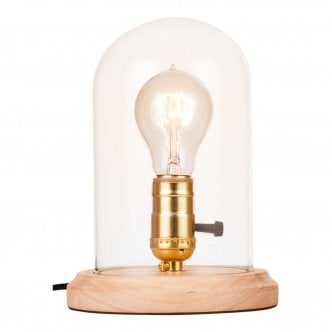 Lampe de Table Bell Jar par Cult Living - Naturel