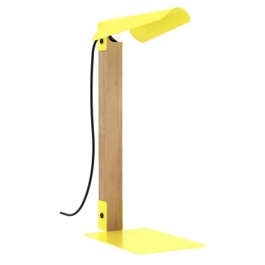 Lampe de table Merlin jaune