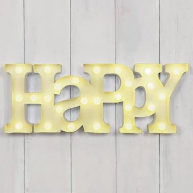 Lampe LED HAPPY en Jaune - Citron