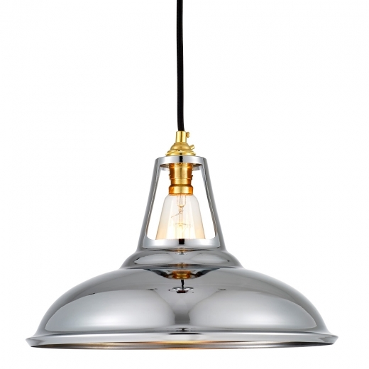 Cult Living Lumière Pendante Dulwich par Cult Living - Chrome