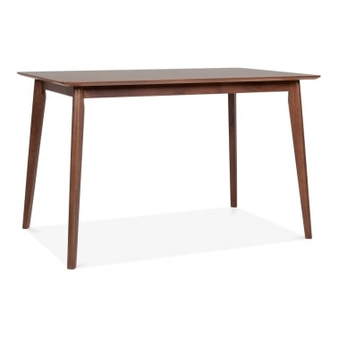 Milton table à manger en bois - Noyer