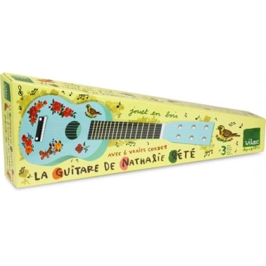Mini Guitare - Bleu