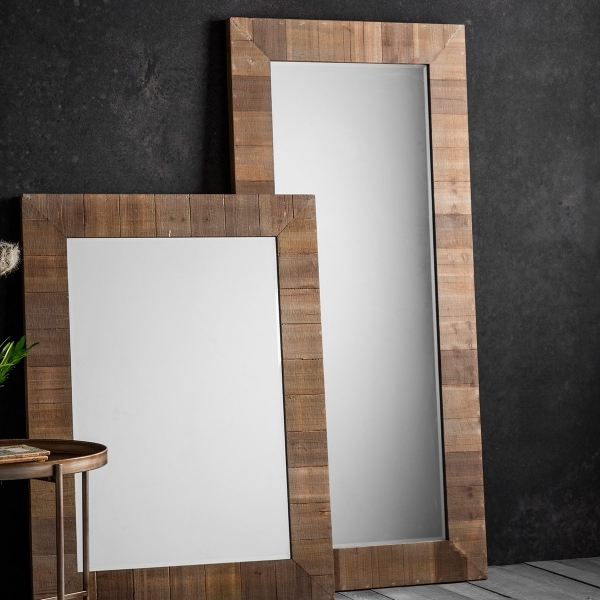 miroir de pied rustique farmhouse bois massif cult fr. Black Bedroom Furniture Sets. Home Design Ideas