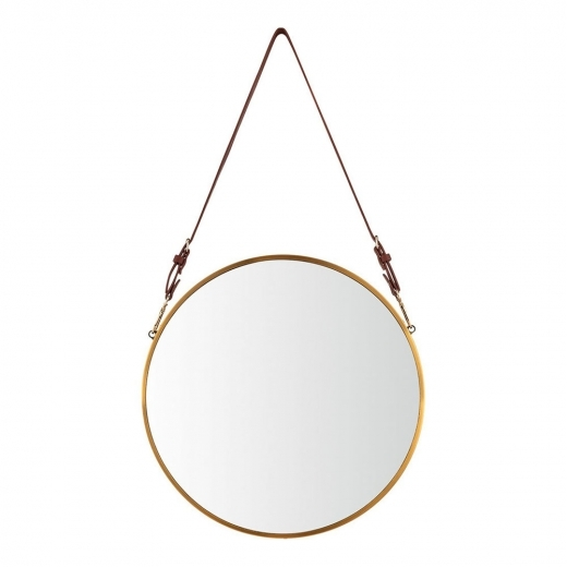 Cult Living Miroir Suspendu Aria, Or