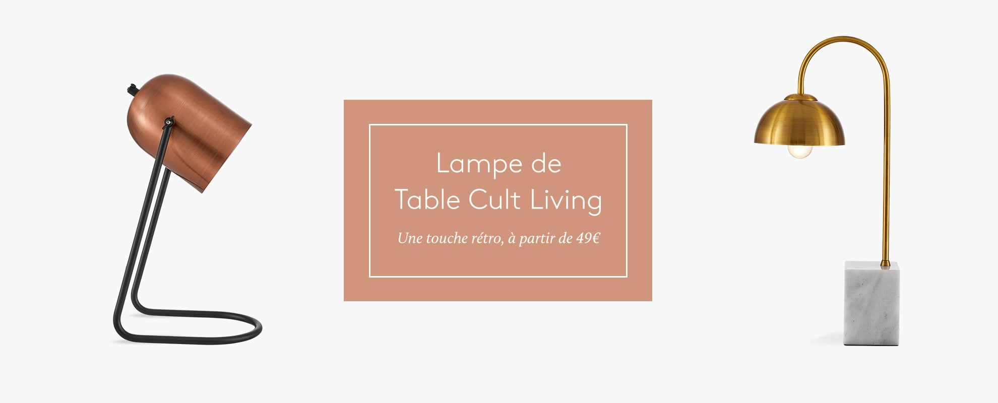 Cult Living Table Lamps