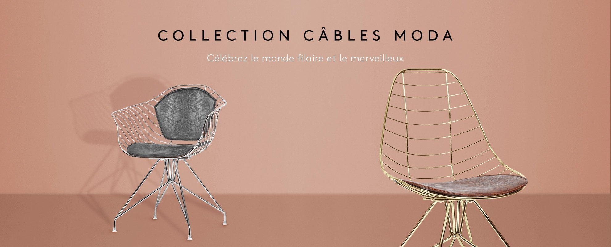 Moda Wire Chairs