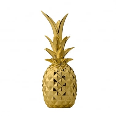 Ornement Décoratif Art Déco Cult Home Ananas, Or