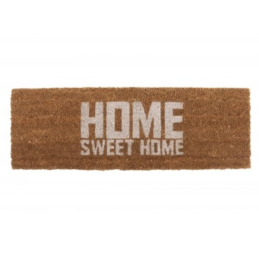 Paillasson Home Sweet Home - Blanc