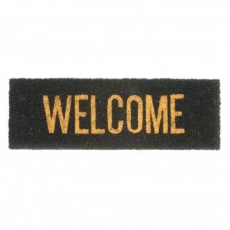 Paillasson Welcome, Noir