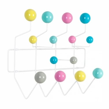 Porte-manteau Hang It All avec Boules Pastel Multicolore