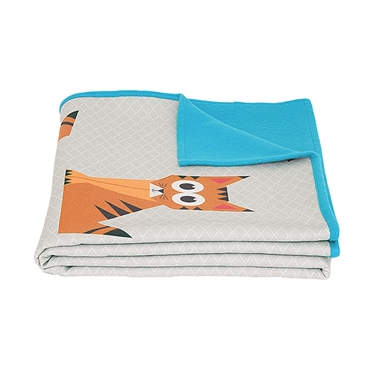 Tiger Geo Forest Blanket - Multi Coloured