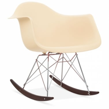 Rocking Chair de Style RAR Crème