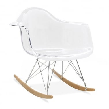 Rocking Chair de Style RAR Transparente