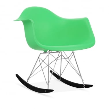 Rocking Chair de Style RAR Vert