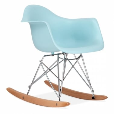 Rocking Chair pour Enfant de Style RAR - Bleu Pastel