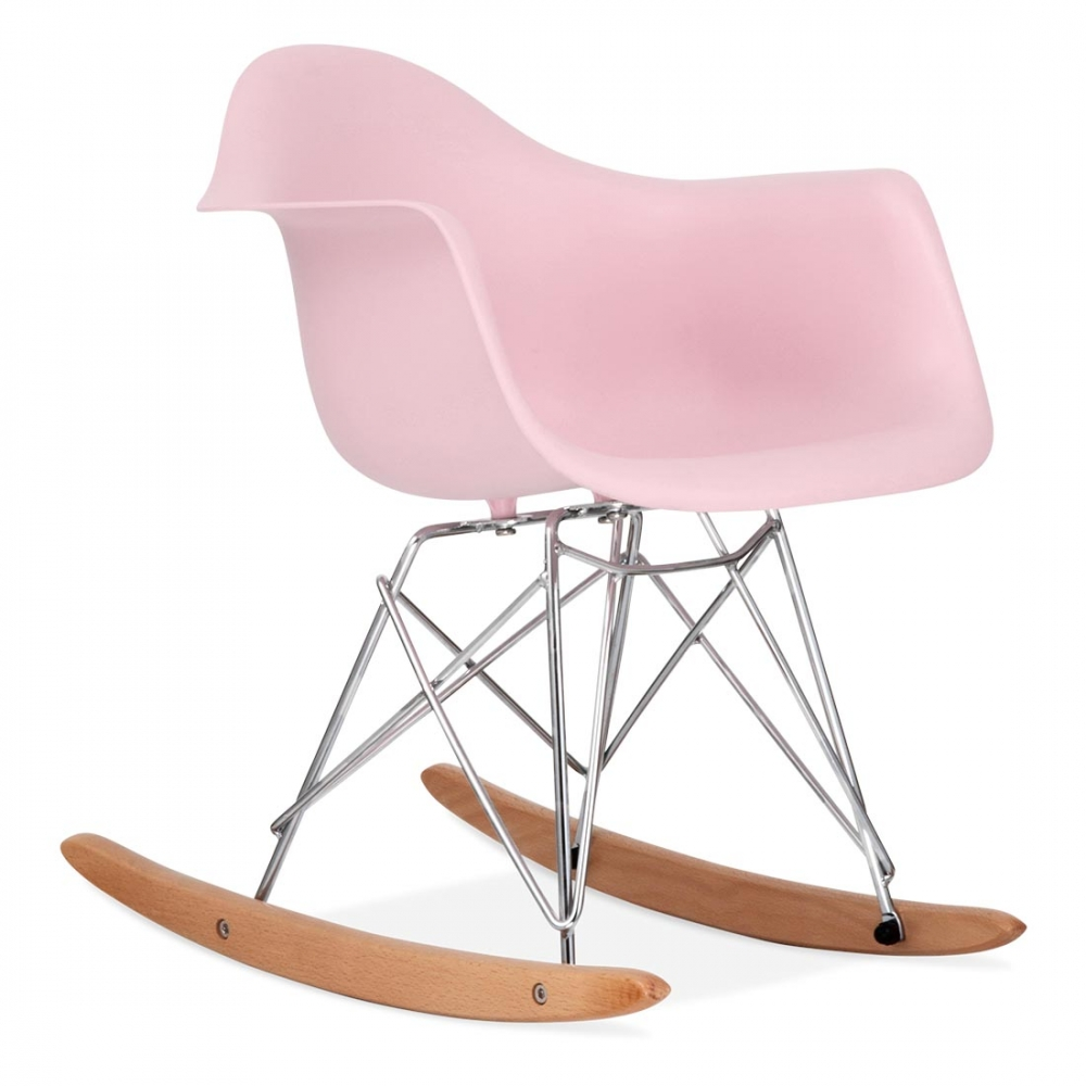 rocking chair design pour enfant de rar en rose pastel cult furniture. Black Bedroom Furniture Sets. Home Design Ideas