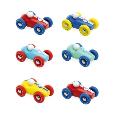 Set de Mini Voitures de Course - Rouge