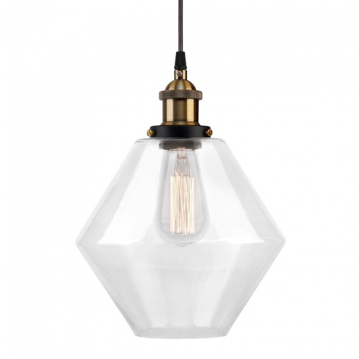 Cult Living Suspension Industrielle Clear - Diamant