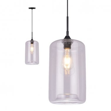Suspension Industrielle Moderne Pod – Clair
