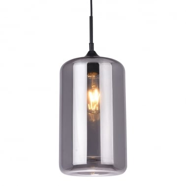 Suspension Industrielle Moderne Pod – Noir