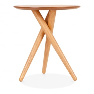 Table d'Appoint à Trépied en Bois Boden, Naturel