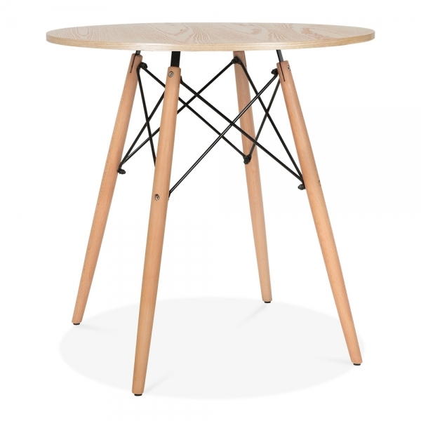 Table de salle manger naturel dsw 70cm de diam tre cult fr for Table salle a manger 70 cm de large