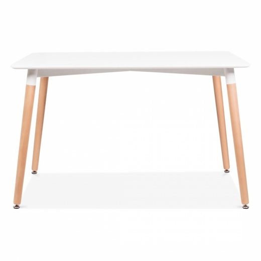 Cult Living Table Edelweiss Rectangulaire – Blanc
