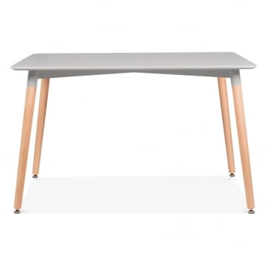 Table Edelweiss Rectangulaire – Gris Clair 120cm