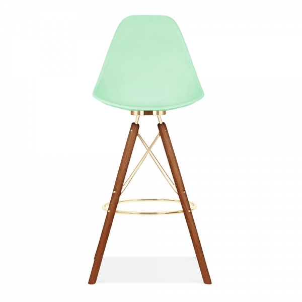 tabouret de bar avec dossier moda cd3 vert pastel par cult studio cult fr. Black Bedroom Furniture Sets. Home Design Ideas