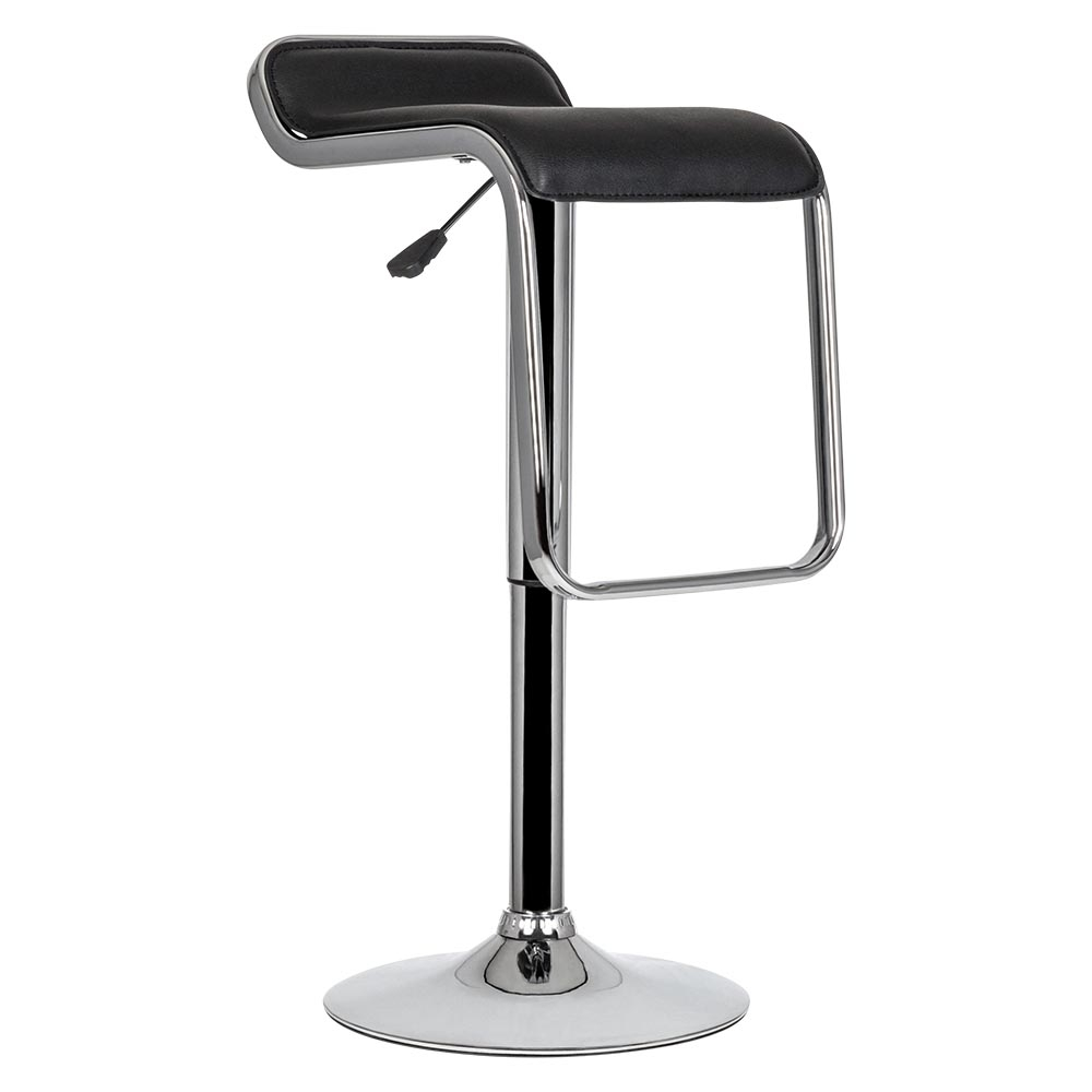 tabouret de bar pivotant trend avec assise en pvc cult. Black Bedroom Furniture Sets. Home Design Ideas