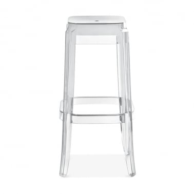 Tabouret Haute Ghost - Transparent 75cm